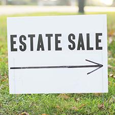 Estate Sale Signs